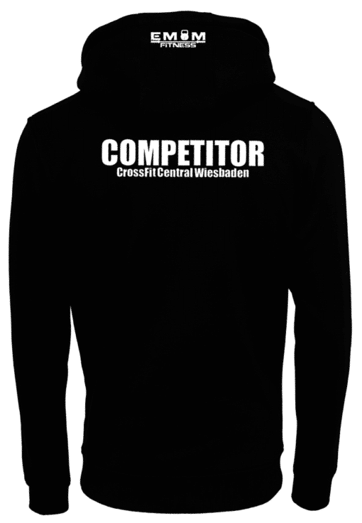 Crossfit® Central Wiesbaden Unisex Hoody - Logo  & Competitor