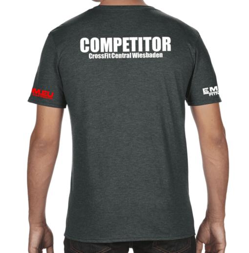 Crossfit® Central Wiesbaden T-Shirt für Herren - Logo Shirt für Competitors