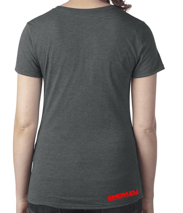 Crossfit® Central Wiesbaden Shirt für Damen – Logo 2