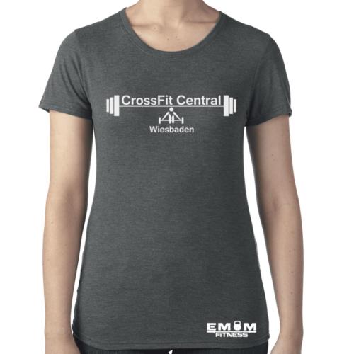 Crossfit® Central Wiesbaden Shirt für Damen – Logo & Coach 3