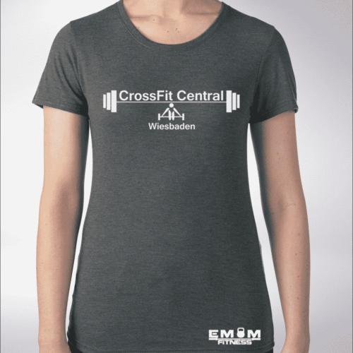 Crossfit® Central Wiesbaden Shirt für Damen – Logo & Competitor 3