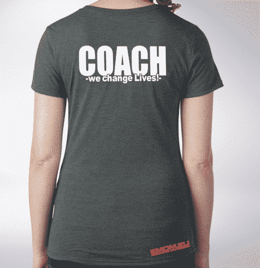 Crossfit® Central Wiesbaden Shirt für Damen – Logo & Coach 1