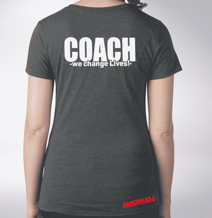 Crossfit® Central Wiesbaden Shirt für Damen – Logo & Coach 1