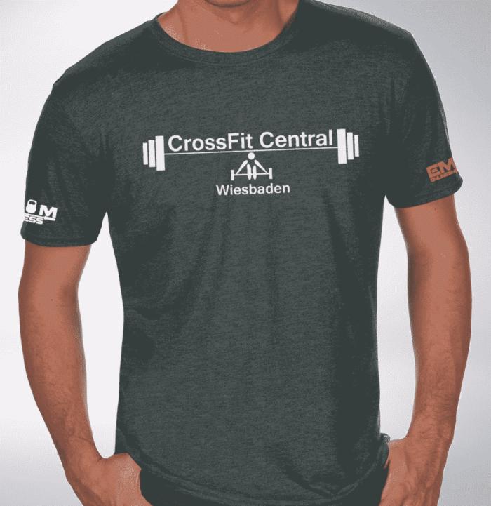 Crossfit® Central Wiesbaden T-Shirt für Herren - Logo Shirt 1