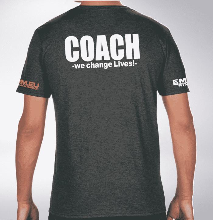 Crossfit® Central Wiesbaden T-Shirt für Herren - Logo Shirt für Coaches 1