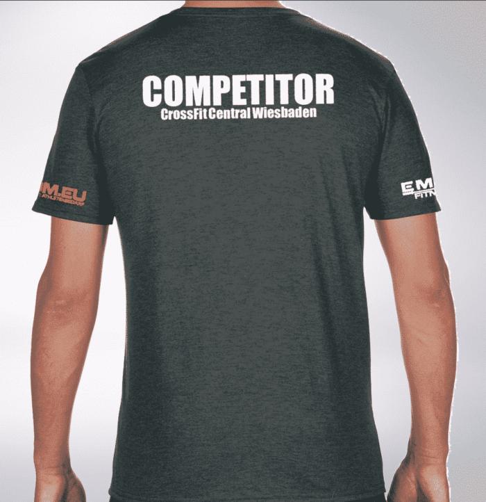 Crossfit® Central Wiesbaden T-Shirt für Herren - Logo Shirt für Competitors 1