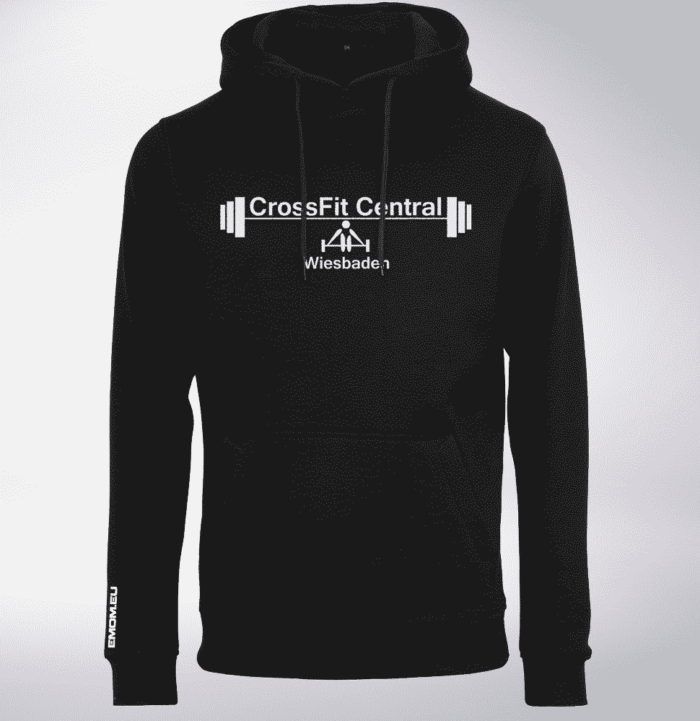 Crossfit® Central Wiesbaden Unisex Hoody - Logo & Competitor 2