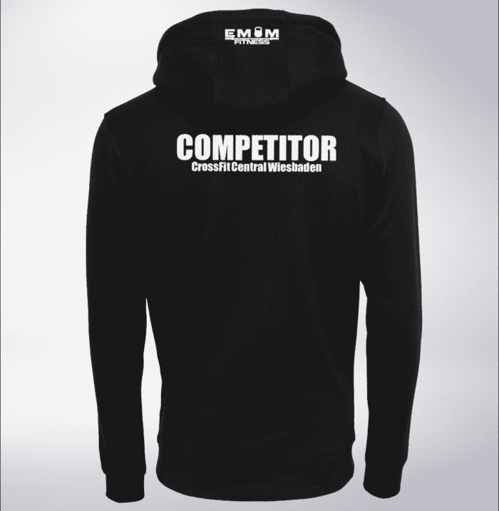 Crossfit® Central Wiesbaden Unisex Hoody - Logo & Competitor 1