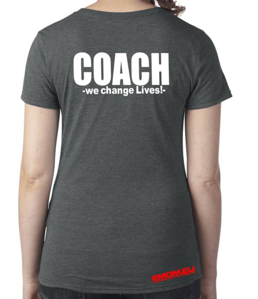 Crossfit® Central Wiesbaden Shirt für Damen – Logo & Coach