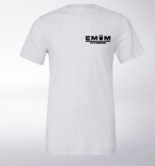 Black Bärenkopf (hinten) T-Shirt Herren - WeißHeather 3