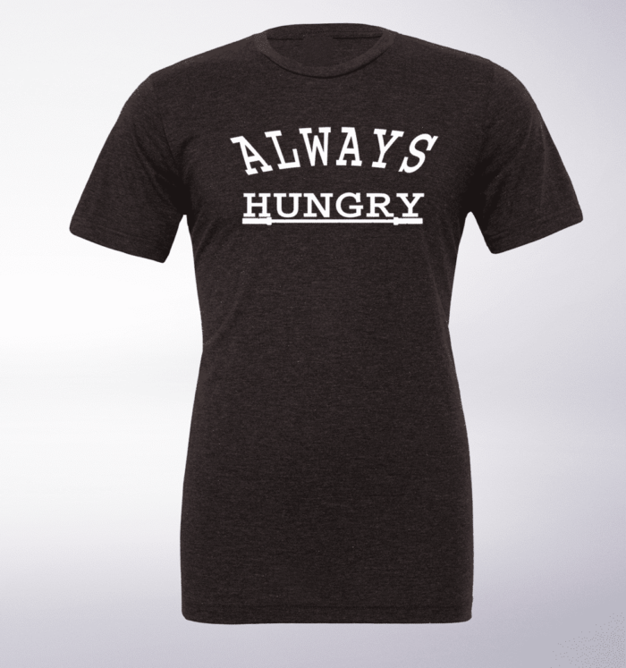 Always Hungry T-Shirt Herren - Dunkelgrau 1