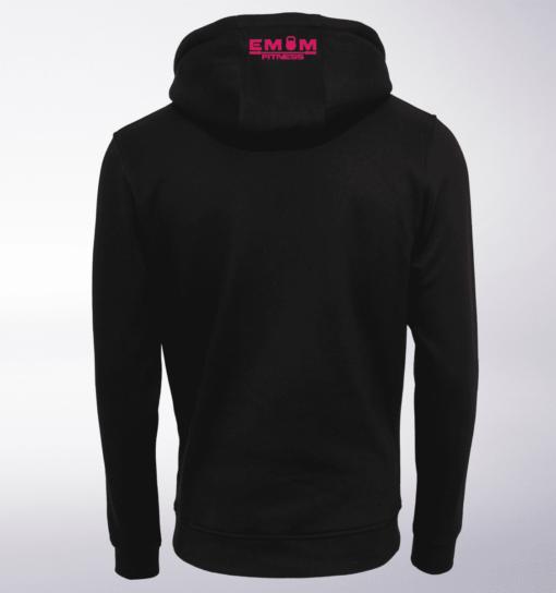 Pink - Coffee&Barbell Lady Unisex- PremiumHoody - Schwarz 2