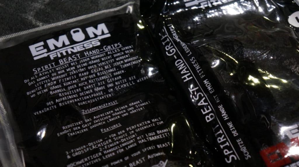EMOM Fitness - Spirit Beast - Hand Grips 16