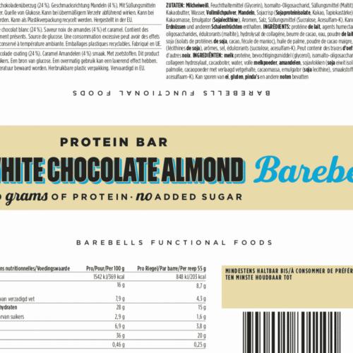 Barebells - Riegel - White Chocolate Almond - Protein Bar 3