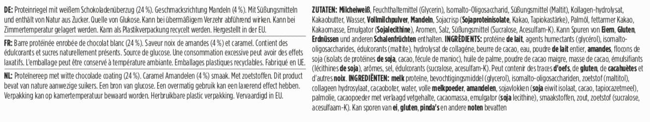 Barebells - Riegel - White Chocolate Almond - Protein Bar 4