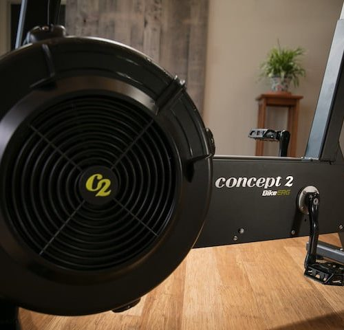 Concept2 BikeErg - Luftwiderstand BikeErgometer mit PM5 Monitor 7