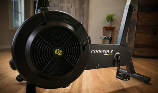 Concept2 BikeErg - Luftwiderstand BikeErg mit PM5