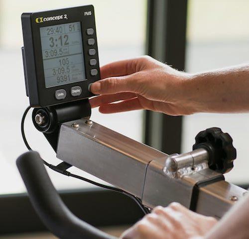 Concept2 BikeErg - Luftwiderstand BikeErgometer mit PM5 Monitor 8