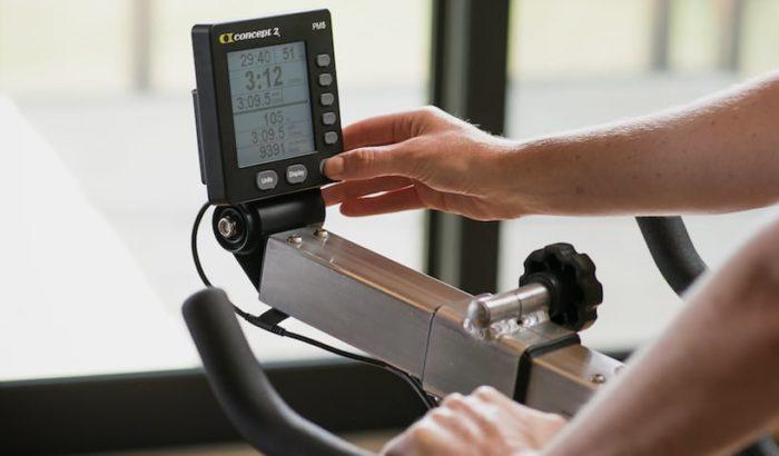 Concept2 BikeErg - Luftwiderstand BikeErgometer mit PM5 Monitor 4