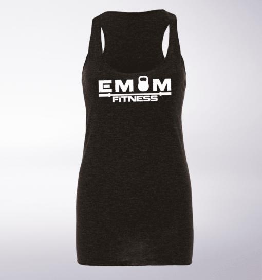 EMOM Fitness Racerback Triblend-Tank