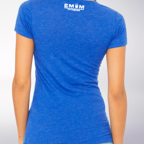White - WOD THE FUCK Damen-Shirt - Blau 5