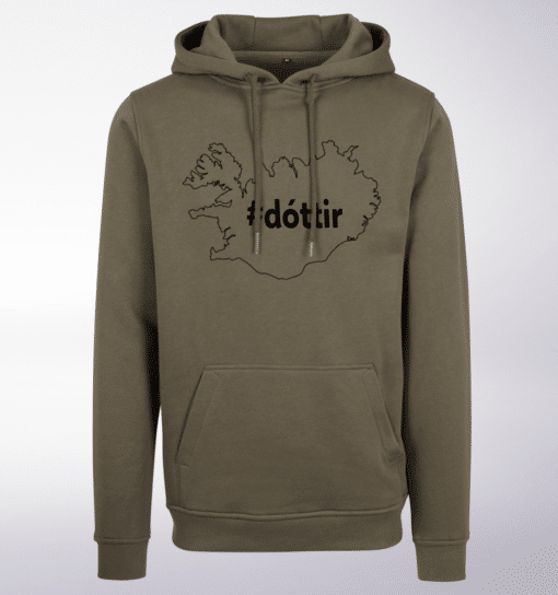 Black - dottir ICELAND Unisex- PremiumHoody - Oliv