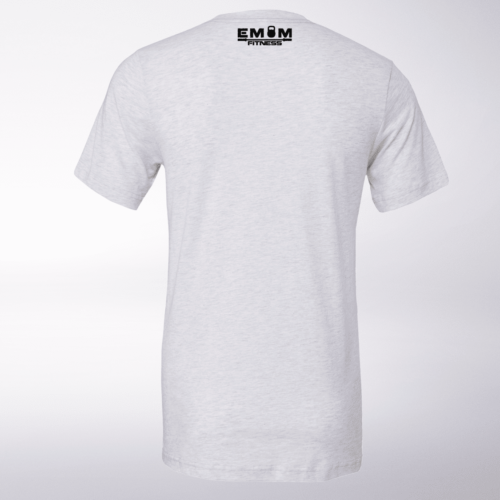 3-Kaste-Clean&Jerk T-Shirt Herren - WeißHeather 5