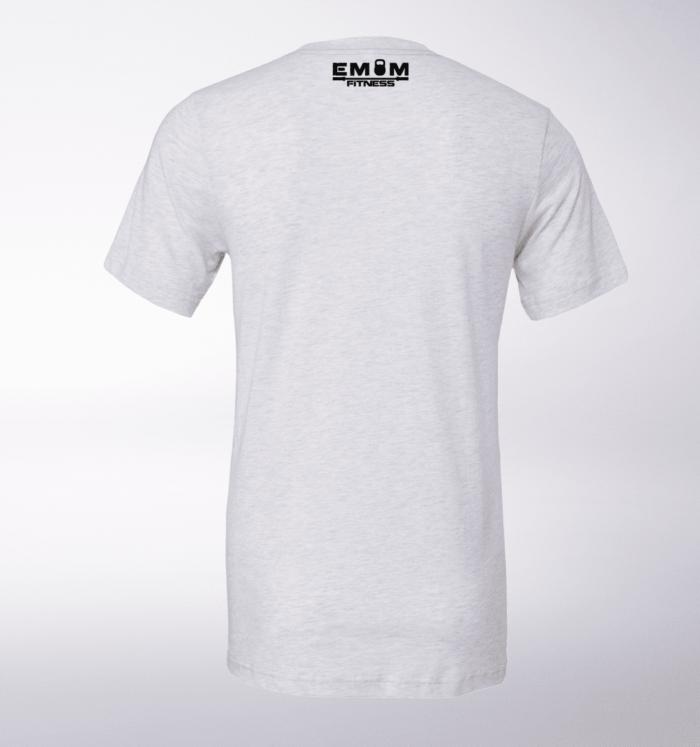 3-Kaste-Clean&Jerk T-Shirt Herren - WeißHeather 3