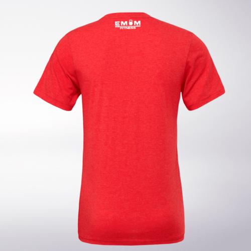 Spirit Animal - Tiger T-Shirt Herren - Rot 5