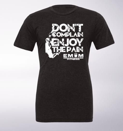 White - Dont Complain Man T-Shirt Herren - Dunkelgrau
