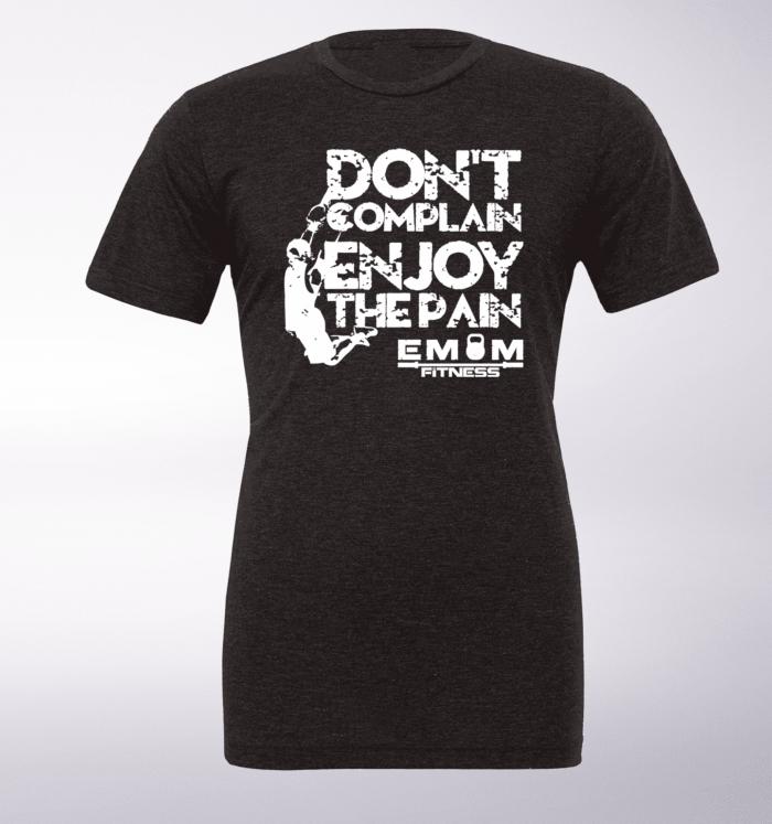White - Dont Complain Man T-Shirt Herren - Dunkelgrau 1