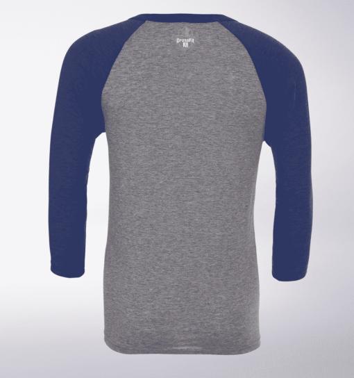 Crossfit®KH Unisex 3/4 Sleeve - Logo vorne & hinten 3