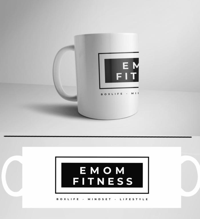 Boxlife, Mindset, Lifestyle Athleten Kaffeetasse für dein Kaffee oder Tee in deiner Box by EMOM Fitness® 1