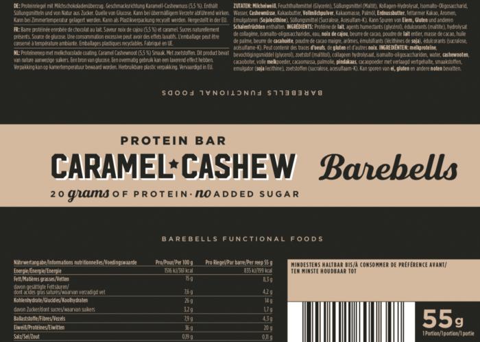 Barebells - Riegel - CARAMEL CASHEW- Protein Bar 2