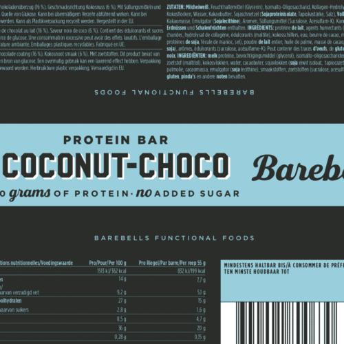 Barebells - Riegel - COCONUT CHOKO- Protein Bar 3
