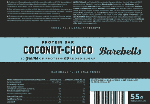 Barebells - Riegel - COCONUT CHOKO- Protein Bar 2