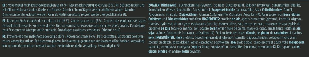 Barebells - Riegel - COCONUT CHOKO- Protein Bar 4