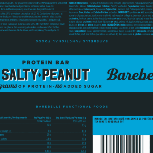 Barebells - Riegel - SALTY PEANUT - Protein Bar 3