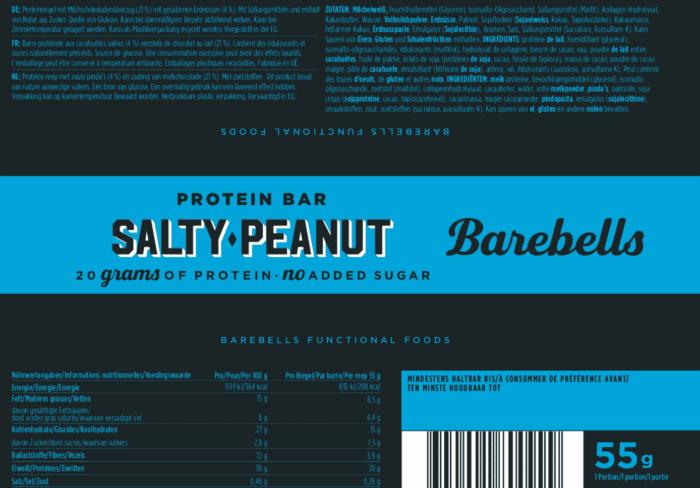 Barebells - Riegel - SALTY PEANUT - Protein Bar 2