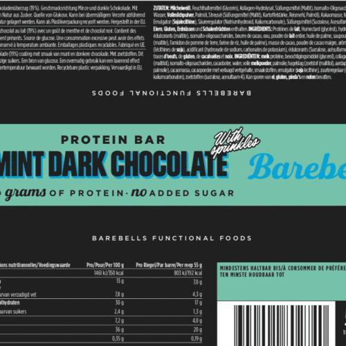 Barebells - Riegel - MINT DARK CHOCOLATE - Protein Bar 3