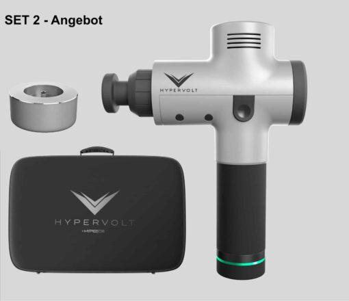 Hyperice Hypervolt - Vibrationsmassage-Tool inkl. Case & Ladestation im Set 2