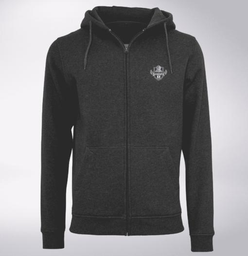 Crossfit®KH Unisex ZIP Hoody - Logo vorne & hinten 1
