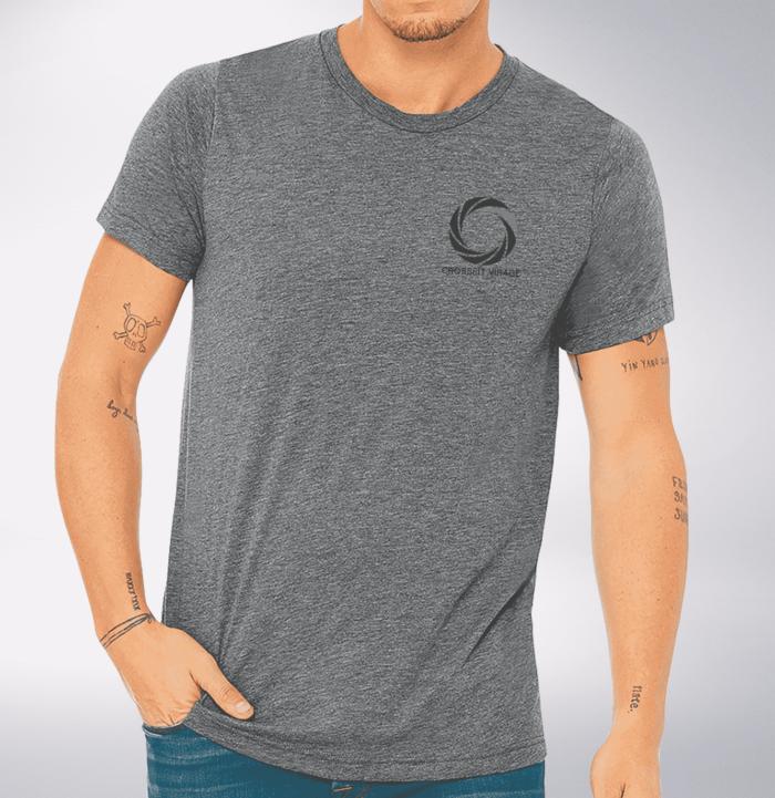 Crossfit© Virage T-Shirt für Herren - Logo vorne & hinten 1