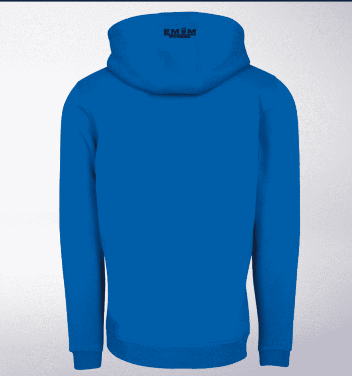 Black - Time to Lift! Unisex- PremiumHoody - Cobalt Blue 2