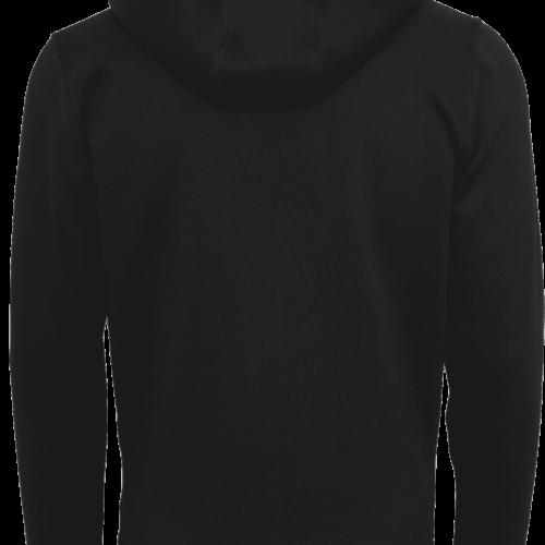 CrossFit®Selent UNISEX Hoody für Herren und Damen- Schwarz - Logo hinten&vorne 3