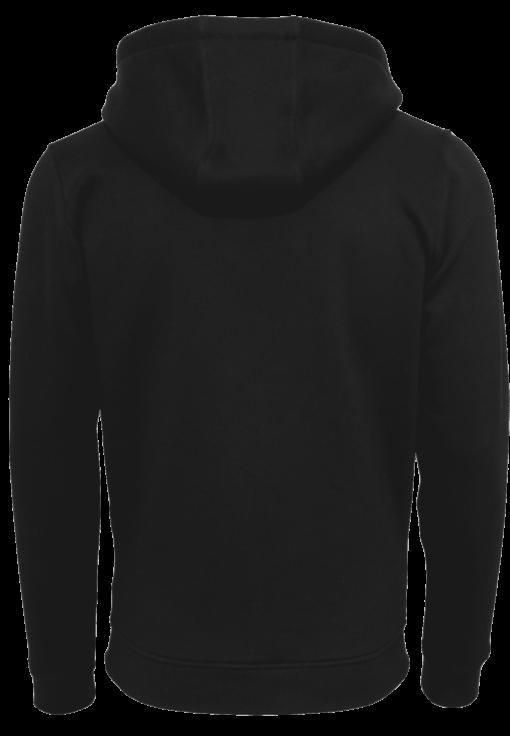 CrossFit®Selent UNISEX Hoody für Herren und Damen- Schwarz - Logo hinten&vorne 2