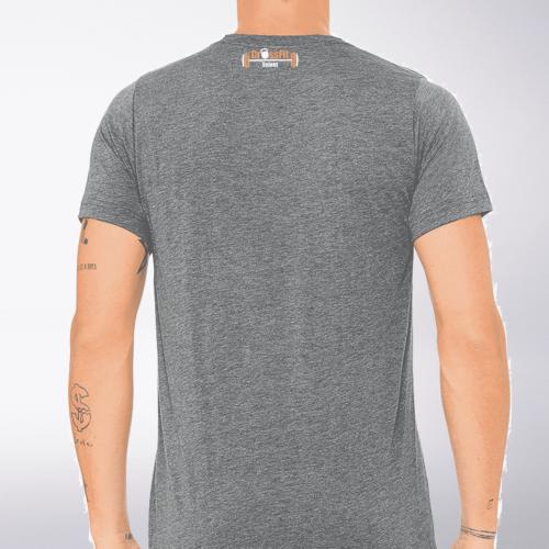 CrossFit®Selent T-Shirt für Herren Grey - Logo vorne&hinten 3