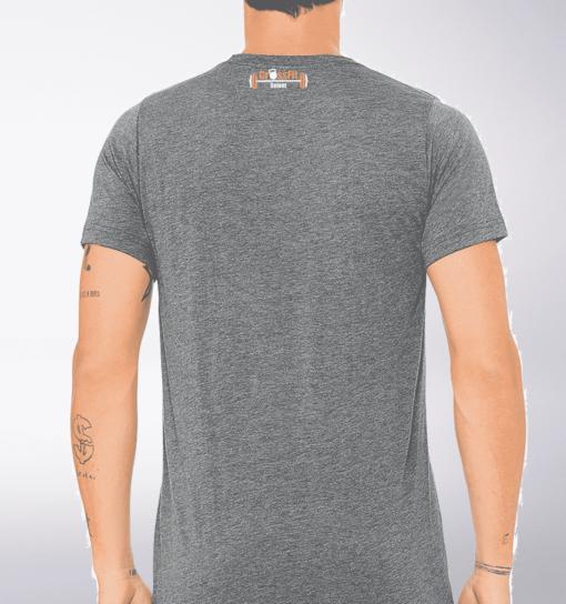 CrossFit®Selent T-Shirt für Herren Grey - Logo vorne&hinten 2