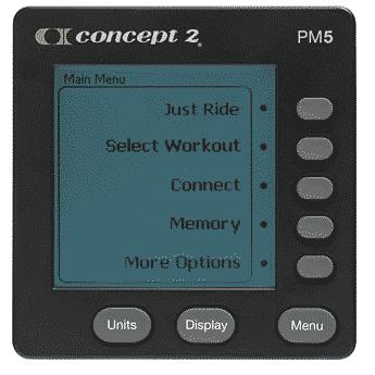 Concept2 BikeErg - Luftwiderstand BikeErgometer mit PM5 Monitor 12
