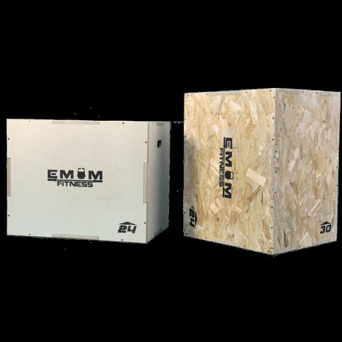 Plyo Box - Sprungbox mit 3 verschiedenen Höhen - 3 in 1 1